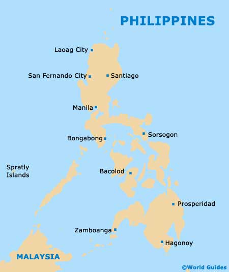 City of Manila Philippines Manila Philippines on World