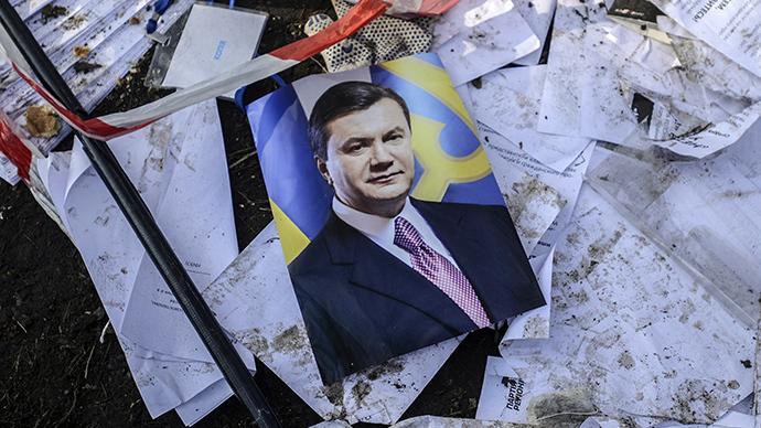 Янукович где сейчас находится